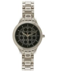 Nicole Miller - Logo Analog Bracelet Watch - Lyst