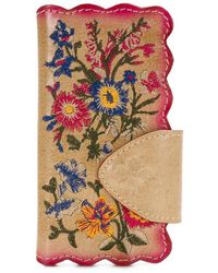 Patricia Nash - Prairie Rose Embroidery Collection Alessandria Phone Wallet - Lyst