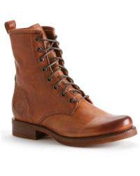 Frye - Veronica Combat Mid-calf Boots - Lyst