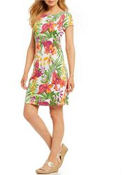 Tommy Bahama | Marabella Blooms Short Dress | Lyst
