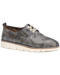 Trask - Lena Metallic Camo Print Suede Sneakers - Lyst