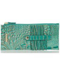 Brahmin - Melbourne Collection Crocodile-embossed Wallet - Lyst