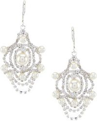 Cezanne - Victorian Chandelier Statement Earrings - Lyst