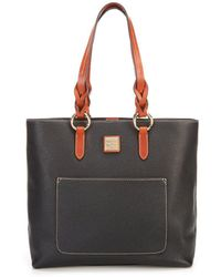Dooney & Bourke - Pebble Collection Pammy Colorblock Tote - Lyst