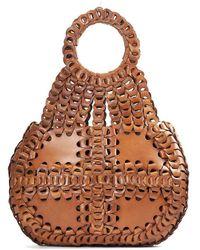Patricia Nash - Leather Chain Link Collection Pisticci Shoulder Bag - Lyst