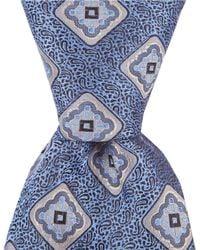 "Cremieux - Fancy Medallion Traditional 3.37"" Silk Tie - Lyst"