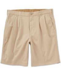 1a00931df Polo Ralph Lauren Tyler Pleated Chino Short in Blue for Men - Lyst