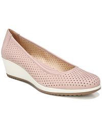 Naturalizer Betina 2 Perforated Leather Wedges