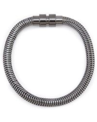 Kenneth Cole - Snake Chain Bracelet - Lyst