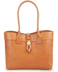 Dooney & Bourke - Florentine Collection Large Clip Amelie Shoulder Bag - Lyst