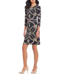 J.McLaughlin - Sophia Printed Sheath Dress - Lyst