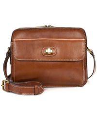 120fd47da4ff Patricia Nash - Heritage Collection Maxela Crossbody Bag - Lyst