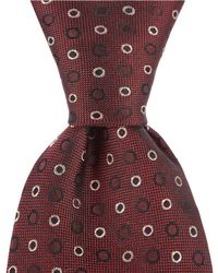 """John Varvatos - Dotted Traditional 3.14"""" Silk Tie - Lyst"""