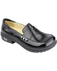 Taylor Stain-Resistant Leather Penny Loafers QscCcAekgg