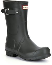 HUNTER - Original Short Men ́s Waterproof Rain Boots - Lyst