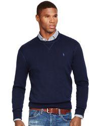 Polo Ralph Lauren | Cotton Crewneck Sweatshirt | Lyst