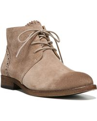 Franco Sarto - Heathrow Suede Ankle Boots - Lyst