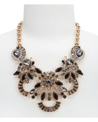 Belle By Badgley Mischka - Multi-stone Statement Necklace - Lyst