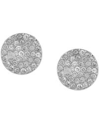 5282622e6 Kate Spade Pave Crab Stud Earrings in Red - Lyst