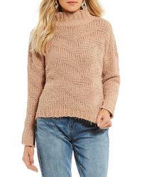 Chelsea & Violet - Chevron Sweater - Lyst