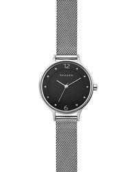 Skagen - Anita Analog Mesh Bracelet Watch - Lyst