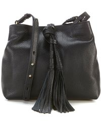Vince Camuto - Taro Leather Cross-body Bag - Lyst