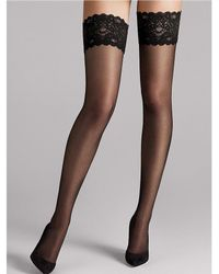 Wolford - Satin Touch 20 Stay-up - Lyst