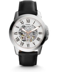 Fossil - Grant Automatic Stainless Steel Watch - Lyst