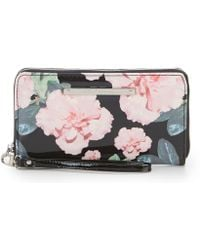 Betsey Johnson - Floral Zip-around Wallet - Lyst
