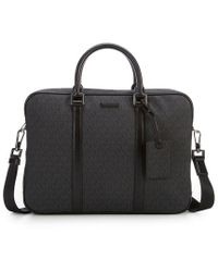 Michael Kors | Jet Set Logo Large Briefcase | Lyst