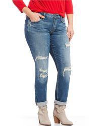 Silver Jeans Co. - Plus Size Curvy Boyfriend Jeans - Lyst
