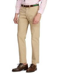 Polo Ralph Lauren - Big & Tall Classic-fit Flat-front Stretch Chino Pants - Lyst