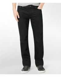 CALVIN KLEIN 205W39NYC - Jeans Silver Bullet Straight-leg Jeans - Lyst