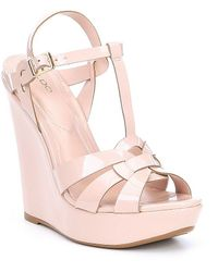 ALDO - Nellyy Platform Wedge Sandals - Lyst