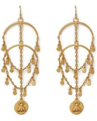 Vince Camuto - Bee Charm Earrings - Lyst