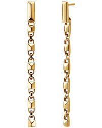 Michael Kors - Mercer Collection Sterling Silver Drop Earrings - Lyst