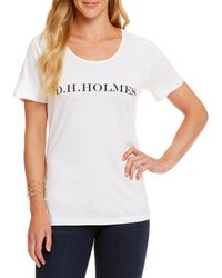 Heritage - D. H. Holmes Logo Tee - Lyst