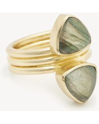 Sole Society - Illusion Stacked Ring - Lyst