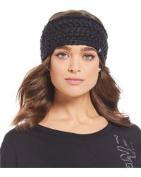The North Face - Ladies' Cable Minna Earband - Lyst