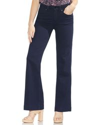 Vince Camuto - High Rise Wide Leg Jean - Lyst