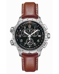 Hamilton - Khaki X-wind Chronograph Watch - Lyst