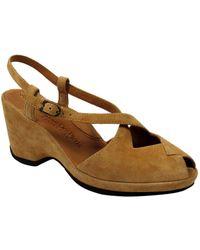 L'amour Des Pieds - Oraine Suede Sandals - Lyst