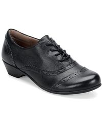 Comfortiva - Reddell Leather Lace-up Oxfords - Lyst