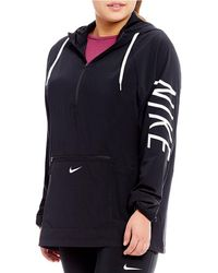 Nike - Plus Flex Packable Woven Training Jacket - Lyst
