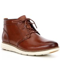 7a7212963ad Cole Haan Original Grand.os Moc Chukka in Brown for Men - Lyst