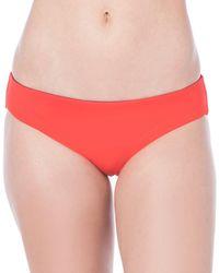 Lauren by Ralph Lauren - Beach Club Solids Reversible Hipster Bottom - Lyst