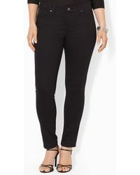 Lauren by Ralph Lauren - Plus Super-stretch Slimming Modern Skinny Jeans - Lyst