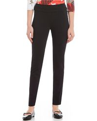Ruby Rd. - Pull-on Knitted Twill Pants - Lyst