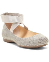 Jessica Simpson - Mandalaye Strappy Square-toe Ballet Flats - Lyst
