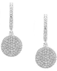 Kate Spade - Pave Drop Earrings - Lyst